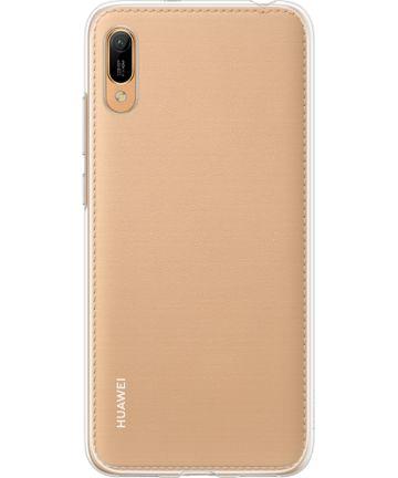 Origineel Huawei Y6s / Y6 (2019) Hoesje TPU Transparant Hoesjes