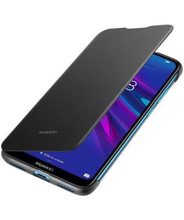 Origineel Huawei Y6s / Y6 (2019) Flip Hoesje Zwart