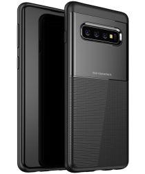 Samsung Galaxy S10 TPU+PC Hoesje Zwart