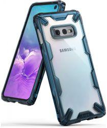 Ringke Fusion X Samsung Galaxy S10E Hoesje Blauw