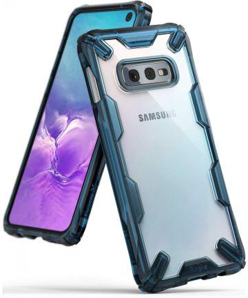 Ringke Fusion X Samsung Galaxy S10E Hoesje Blauw Hoesjes