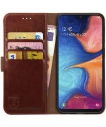 Rosso Element Samsung Galaxy A20E Hoesje Book Cover Bruin
