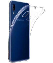 Samsung Galaxy A20E Hoesje Dun TPU Transparant