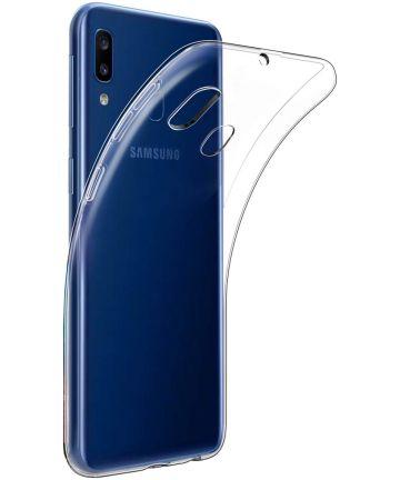 Samsung Galaxy A20E Hoesje Dun TPU Transparant Hoesjes