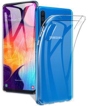 Samsung Galaxy A70 Hoesje Dun TPU Transparant Hoesjes