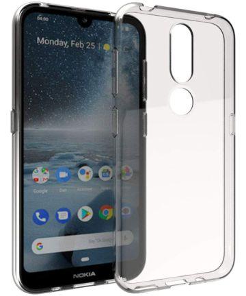Nokia 3.2 Hoesje Dun TPU Transparant Hoesjes