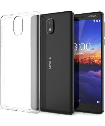Nokia 1 Plus Hoesje Dun TPU Transparant Hoesjes