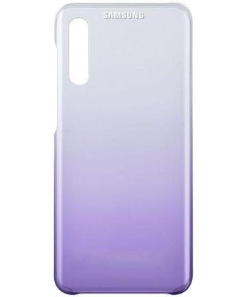 Origineel Samsung Galaxy A50 Hoesje Gradation Cover Paars Hoesjes