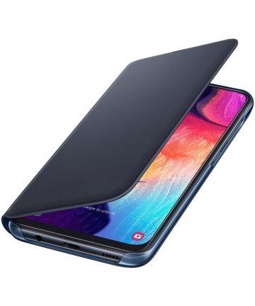 Origineel Samsung Galaxy A50 Hoesje Wallet Cover Zwart