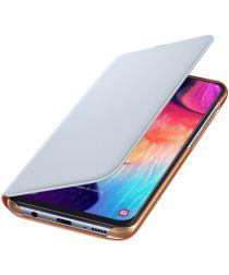 Origineel Samsung Galaxy A50 Hoesje Wallet Cover Wit