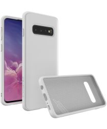 RhinoShield SolidSuit Samsung Galaxy S10 Hoesje Classic Wit