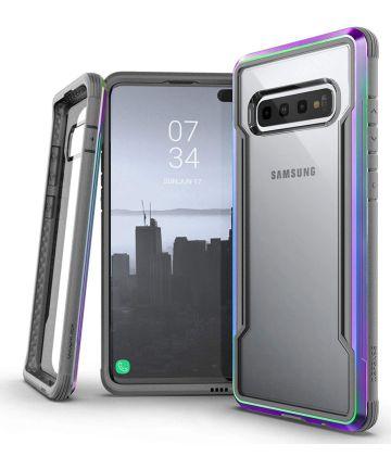 Raptic Shield Samsung Galaxy S10 Hoesje Transparant/Iridescent Hoesjes