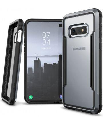 Raptic Shield Samsung Galaxy S10E Hoesje Transparant/Zwart Hoesjes