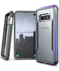 Raptic Shield Samsung Galaxy S10E Hoesje Transparant/Iridescent
