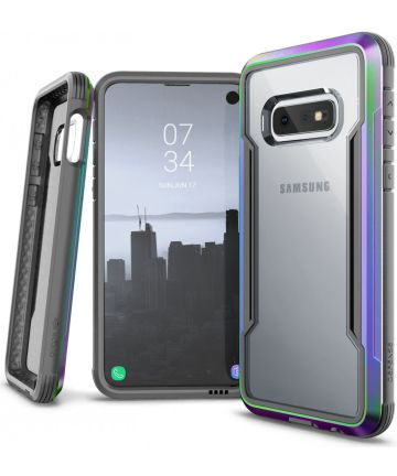 Raptic Shield Samsung Galaxy S10E Hoesje Transparant/Iridescent Hoesjes