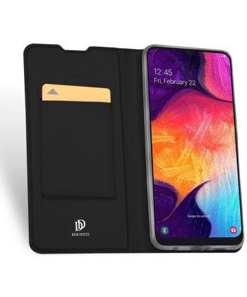 Dux Ducis Skin Pro Series Samsung Galaxy A50 Book Case Hoesje Zwart Hoesjes
