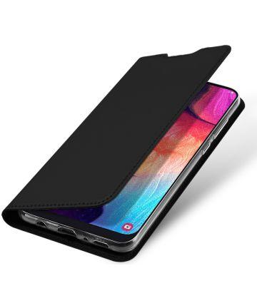 Dux Ducis Premium Book Case Samsung Galaxy A50 Hoesje Zwart