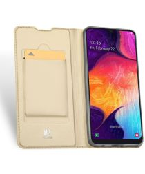 Dux Ducis Skin Pro Series Samsung Galaxy A50 Book Case Hoesje Goud