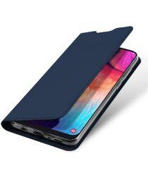 Dux Ducis Premium Book Case Samsung Galaxy A50 Hoesje Blauw