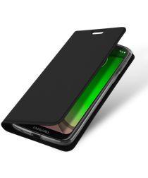 Dux Ducis Premium Book Case Motorola Moto G7 Play Hoesje Zwart