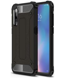 Xiaomi Mi 9 Hybride Hoesje Zwart