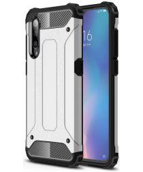 Xiaomi Mi 9 Hybride Hoesje Zilver