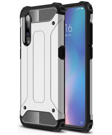 Xiaomi Mi 9 Hybride Hoesje Zilver Hoesjes
