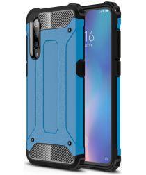 Xiaomi Mi 9 Hybride Hoesje Blauw