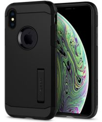 Spigen Tough Armor Hoesje Apple iPhone Xs Zwart