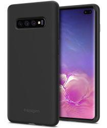 Spigen Samsung Galaxy S10 Plus Case Silicone Fit Black