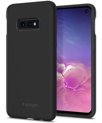 Spigen Samsung Galaxy S10E Case Silicone Fit Black Hoesjes