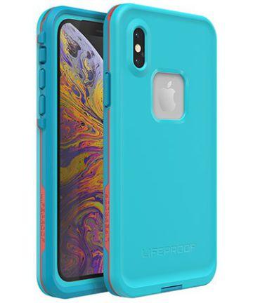 Lifeproof Fre Apple iPhone XS Hoesje Blauw Hoesjes