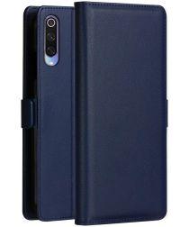 Xiaomi Mi 9 Luxe Portemonnee Hoesje Blauw