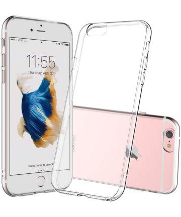 Apple iPhone 6(S) Plus Hoesje Dun TPU Transparant Hoesjes