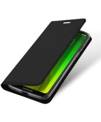 Dux Ducis Premium Book Case Motorola Moto G7 Power Hoesje Zwart