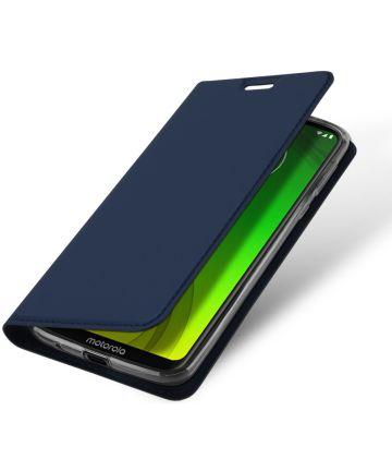 Dux Ducis Premium Book Case Motorola Moto G7 Power Hoesje Blauw Hoesjes