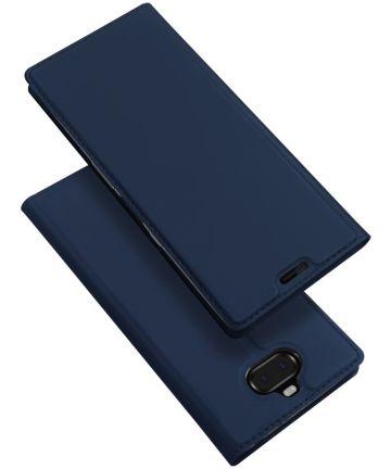 Dux Ducis Skin Pro Series Flip Hoesje Sony Xperia 10 Plus Blauw