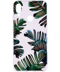 Xiaomi Redmi Note 7 TPU Hoesje met Leaves Print