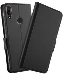 Xiaomi Redmi Note 7 Luxe Portemonnee Hoesje Zwart