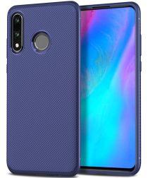 Xiaomi Mi Play Twill Slim Texture Backcover Blauw