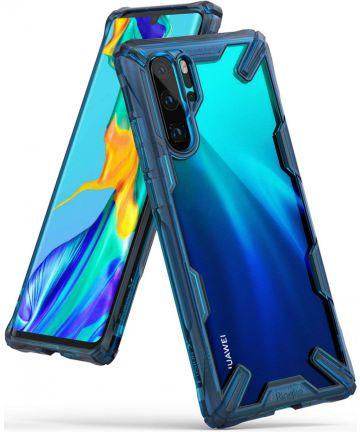 Ringke Fusion X Huawei P30 Pro Hoesje Blauw Hoesjes