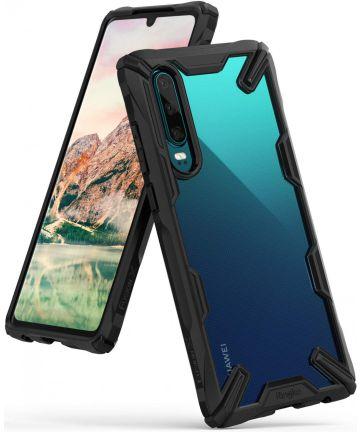 Ringke Fusion X Huawei P30 Hoesje Zwart Hoesjes