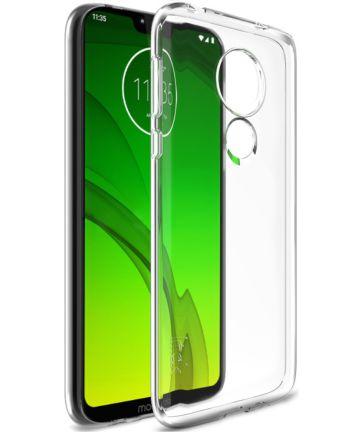 IMAK UX-5 Series Motorola Moto G7 Power Hoesje TPU Transparant Hoesjes