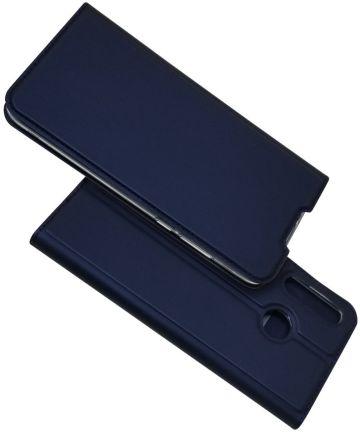 Huawei P30 lite Card Holder Case Blauw Hoesjes