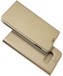 Samsung Galaxy S10E Kaarthouder Hoesje Goud