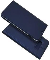 Samsung Galaxy S10E Kaarthouder Hoesje Blauw