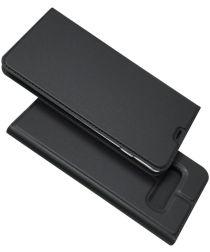 Samsung Galaxy S10 Plus Kaarthouder Hoesje Zwart