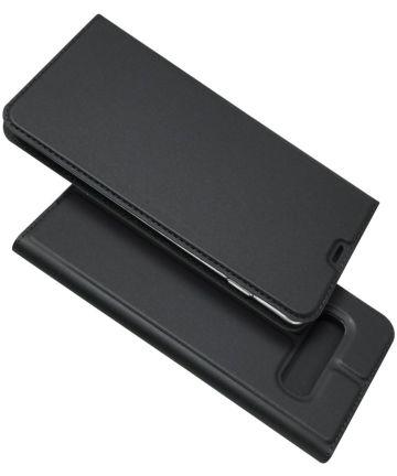 Samsung Galaxy S10 Plus Kaarthouder Hoesje Zwart Hoesjes