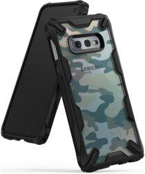 Ringke Fusion X Samsung Galaxy S10E Hoesje Camo Groen