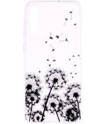 Samsung Galaxy A50 Hoesje TPU met Print Dandelion